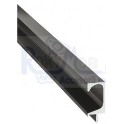 PROFIL MANER HAFELE TIP G 2500 MM NEGRU 155.01.633