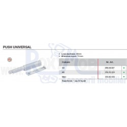 PUSH UNIVERSAL 40MM 74MM GRI 356.05.027