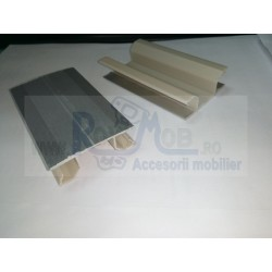 COLTAR PLINTA IMBINARE FLEXIBILA H120MM GRI 24.EZK5.120.08