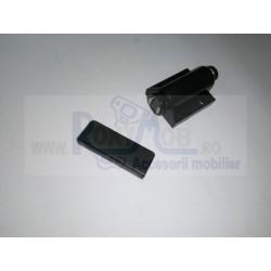 MAGNET USI STICLA SIMPLU NEGRU P22010MG