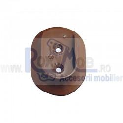 SUPORT BARA HAINE ROTUND PLASTIC D20 MARO 760-09 436.29.13