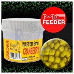 POP UP WAFTER FEEDER CRANBERRY 50BUC 6 MM MG3889