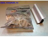 INALTATOR PLASTIC LB 40 6925 CURBAT ( 3 METRI ) SATIN ALU