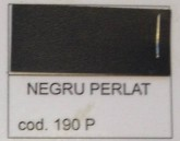 FOLIE CANT 22 MM NEGRU PERLAT 190