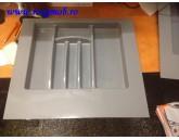 TAVA TACAMURI PLASTIC 553X498 MM GRI 15.2956.600.8C