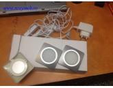 SPOT LED ADA 2304B PATRAT 1.5WX3, 3000K, 240V GRI