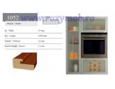 PROFIL MDF 1052 - 22X47X2800 MM - HG NEGRU 606