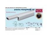 INALTATOR PVC INGUST 11X24MM FOLIE FINISAJ INOX 712.86.014